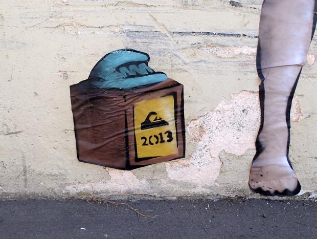 mick fanning gabriel medina street art bert